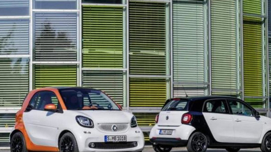 2015 Smart ForTwo and ForFour first official images leaked