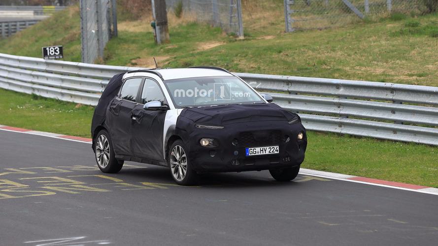 Photos espion - Le Hyundai Kona s'échauffe sur le Nürburgring