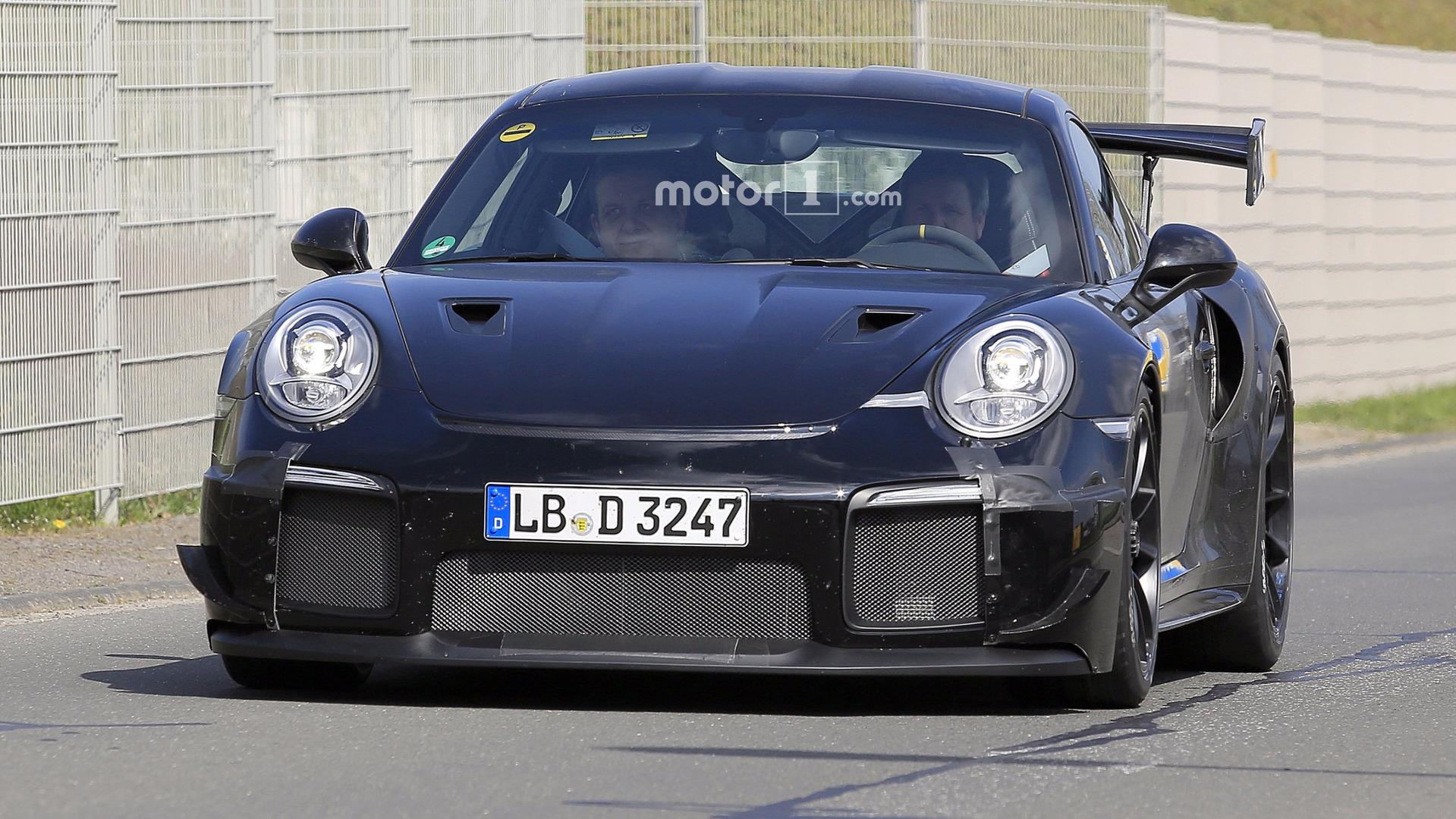 2018-porsche-911-gt2-spy-photo Outstanding Porsche 911 Gt2 Hot Wheels Cars Trend