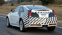 Cadillac CTS Coupe Spied Practically Uncovered