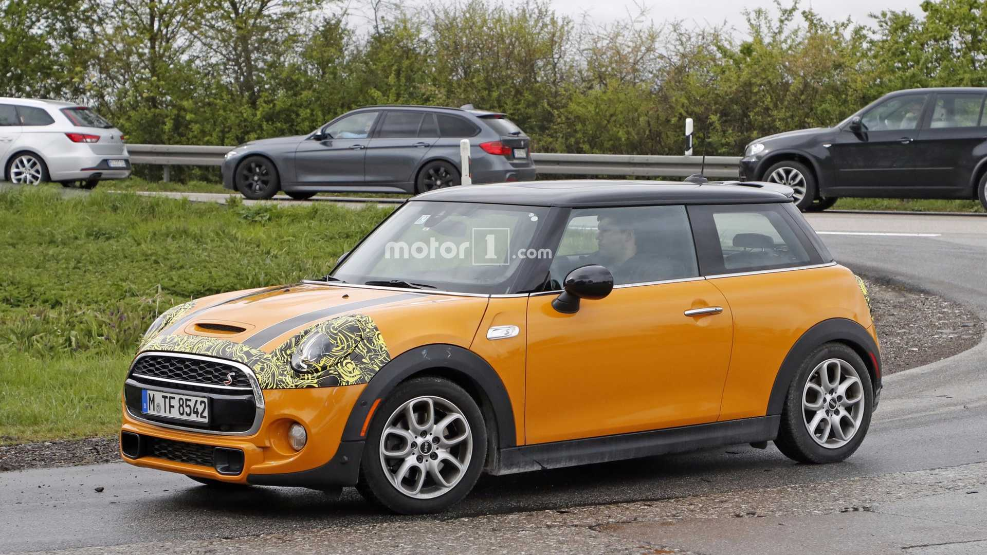 Spy Shots Show Mini Cooper Facelift 2015 Mini Cooper Forum