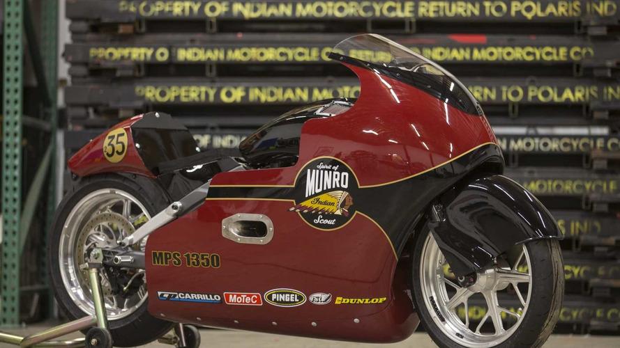 Indian Motorcycle celebra los 50 años de la gesta de Burt Munro