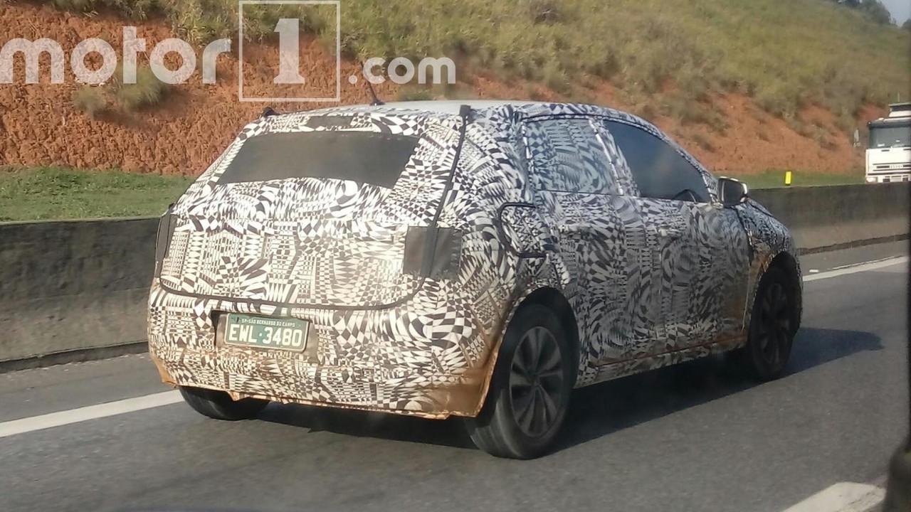 Novo flagra VW Polo 2018