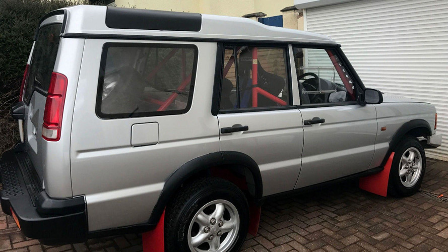 You Can Buy A Bonkers M3-Powered Land Rover Discovery Rally Car