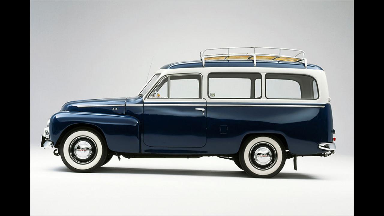 Volvo Duett: Ursprünglich Lieferwagen