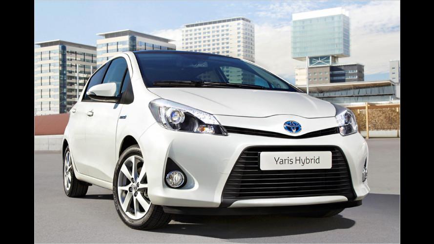 Toyota bringt seinen ersten Hybrid-Kleinwagen