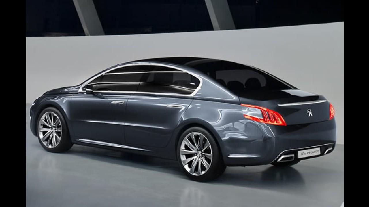 Galeria de fotos do Peugeot 5 Concept 2010