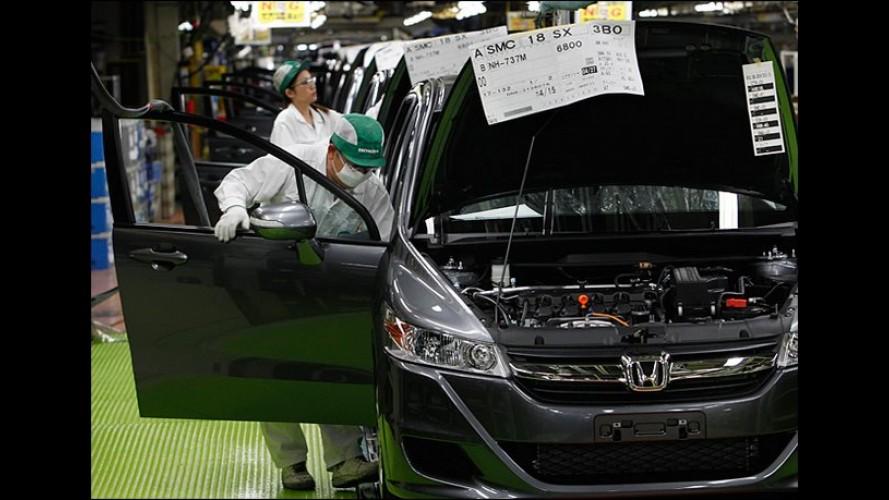 Honda quer dobrar volume de vendas mundiais