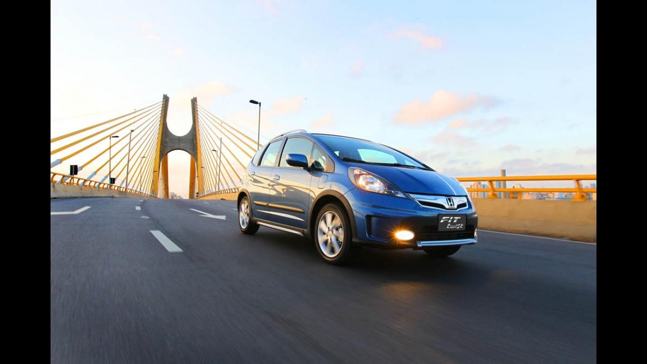 Honda Fit Twist 2014 chega com mesmos itens e preços