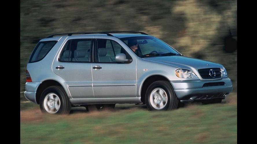 Mercedes-Benz convoca jipão ML no Brasil por problemas com piloto automático