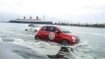 Fiat mostra três 500 anfíbios em evento de surfe na Califórnia