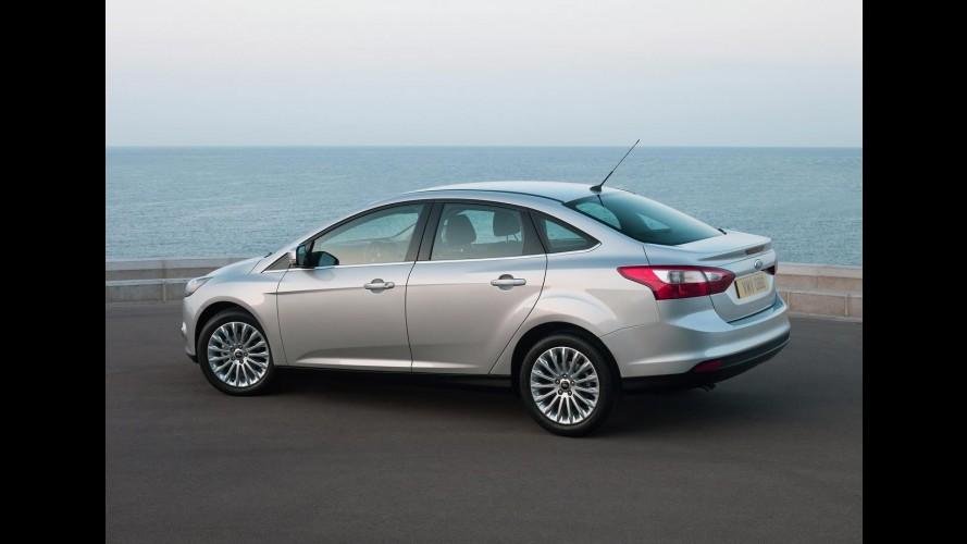Ford Focus 2013 é lançado no México com motor 2.0 e preço inicial equivalente a R$ 36.223