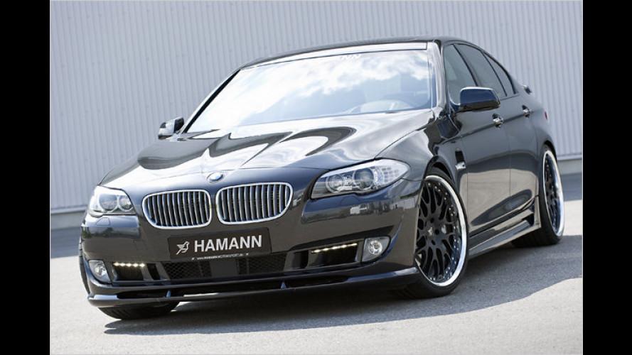 Kosmetik für neuen Fünfer-BMW von Hamann