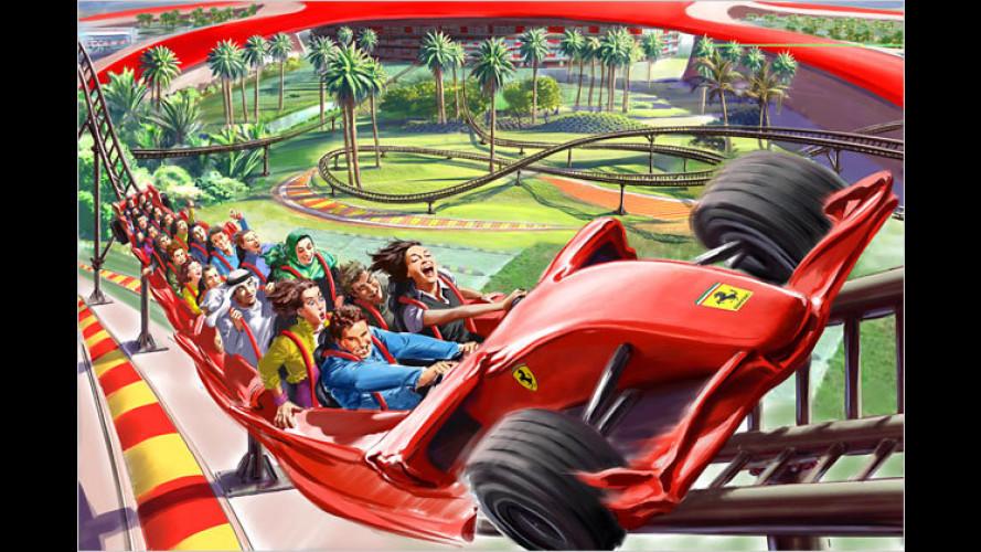 Freundliche Überdosis: Ferrari-Themenpark in Abu Dhabi