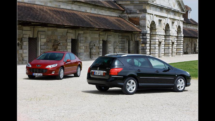 Neues Euro-5-Aggregat für den Peugeot 407