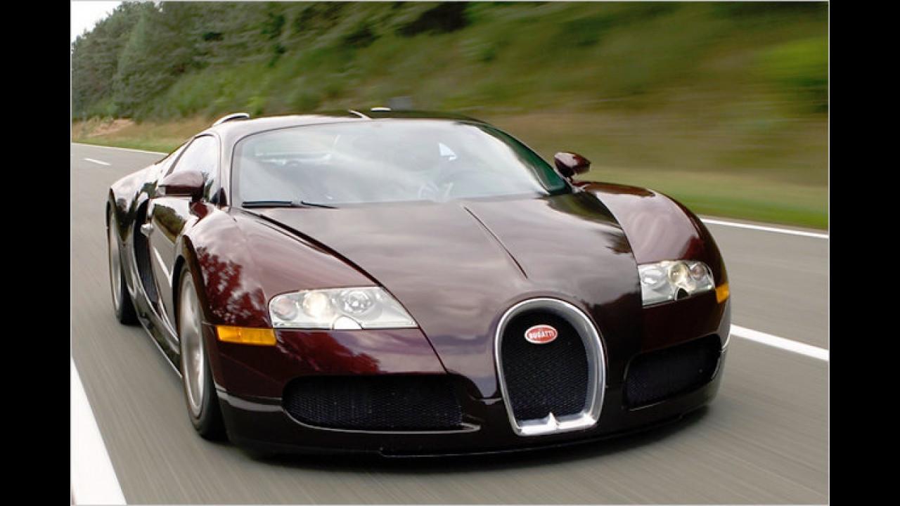 Höchster Verbrauch: Bugatti Veyron 16.4
