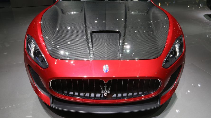 2016 Maserati GranTurismo Paris Motor Show