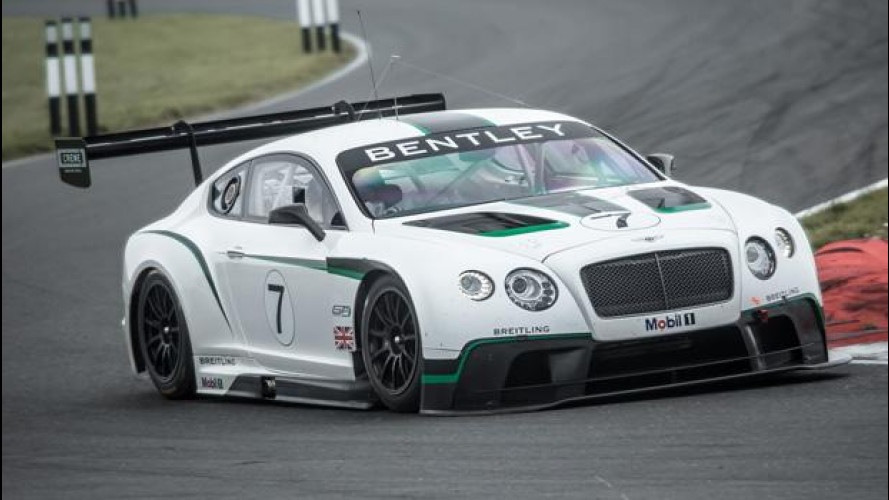 La Bentley Continental GT3 pronta al debutto ad Abu Dhabi