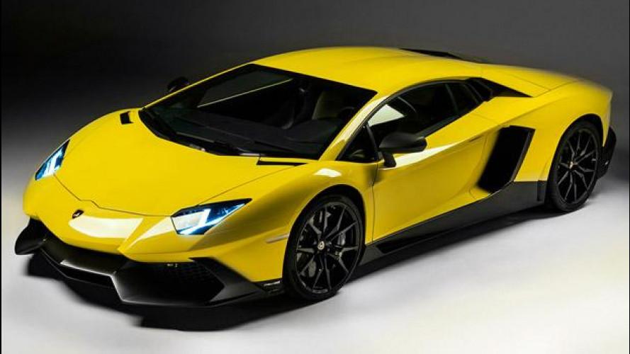 Lamborghini Aventador LP720-4 50° Anniversario: debutto a Shanghai