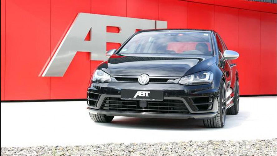 La Volkswagen Golf R diventa esagerata