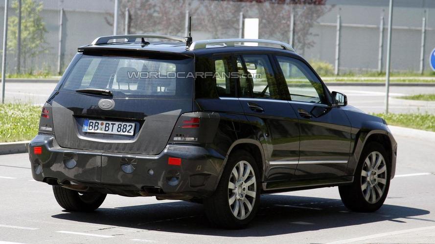 2012 Mercedes GLK facelift spied