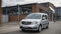 Mercedes Citan gains an improved petrol engine & new features