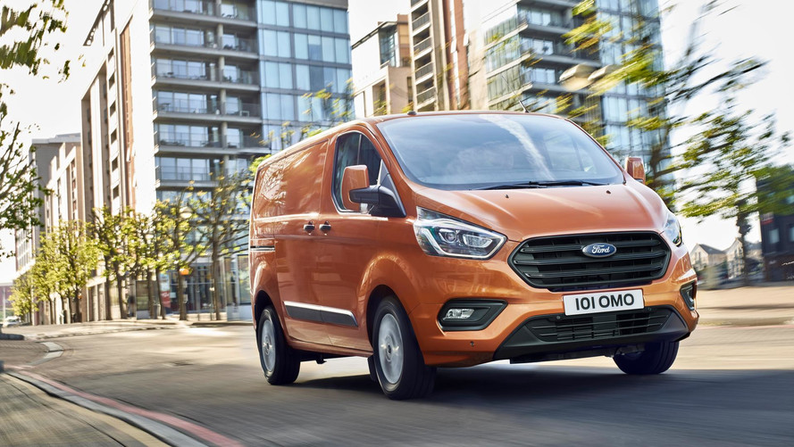 Ford Transit Custom 2017 - Plus technologique