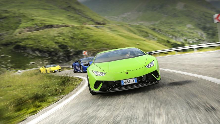 Lamborghini Huracan'lar Transfagarasan'da