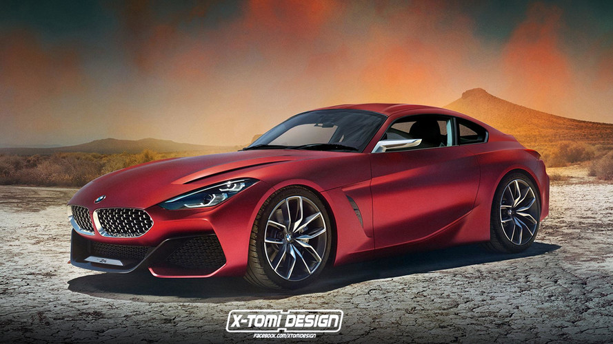 BMW Z4 Coupe Rendering Looks Outrageously Hot
