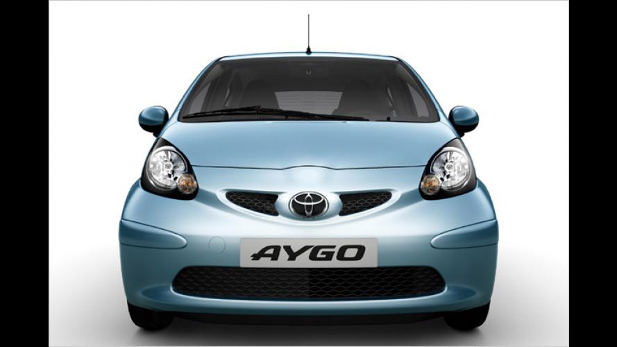 Toyota stellt Aygo und Avensis 2.2 D-CAT vor