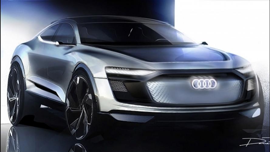 Audi e-tron Sportback concept, il futuro è a Shanghai