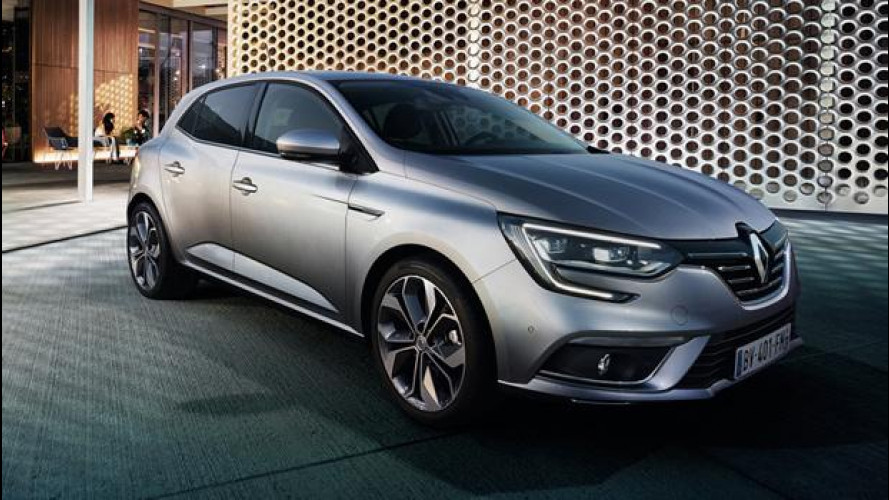 Nuova Renault Megane, firmata dalla luce