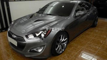2012 Hyundai Genesis Coupe leaked photo - 19.9.2011
