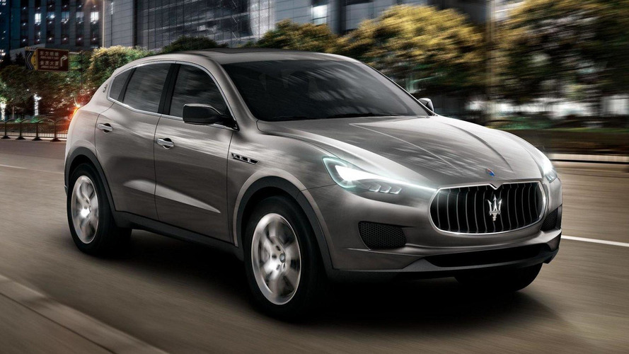 Maserati Kubang SUV revealed in Frankfurt [videos]