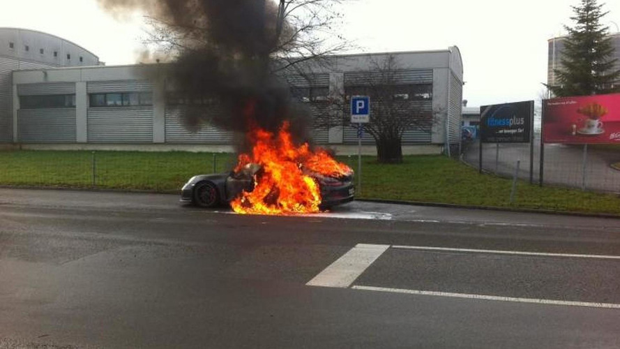 Porsche tells owners to stop driving the 911 GT3 over fire concerns