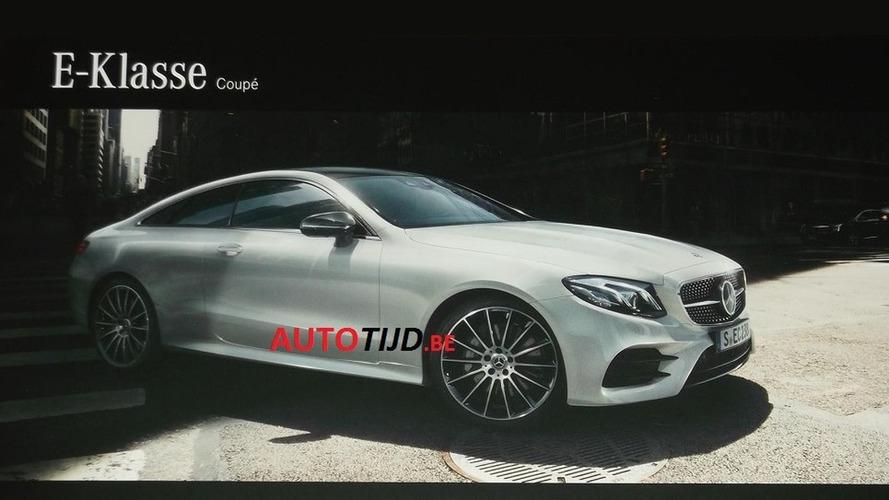 La Mercedes Classe E Coupé s'échappe sur la toile !