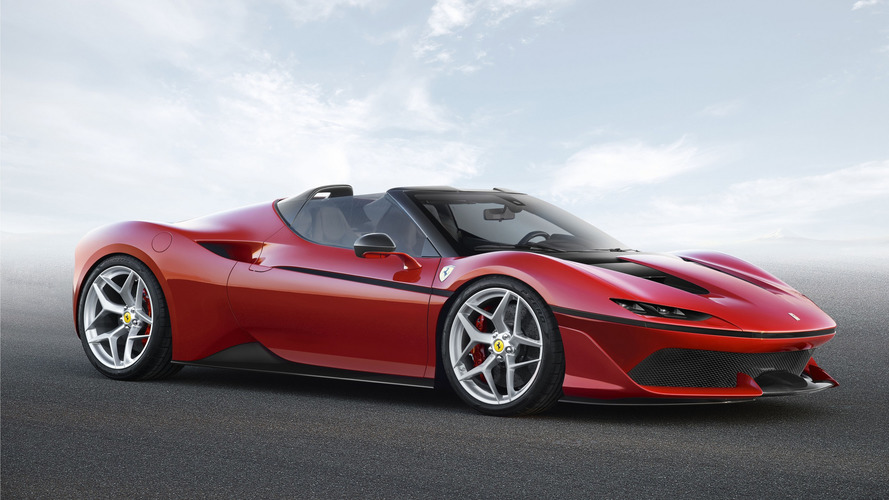Ferrari J50 comemora 50 anos da marca no Japão