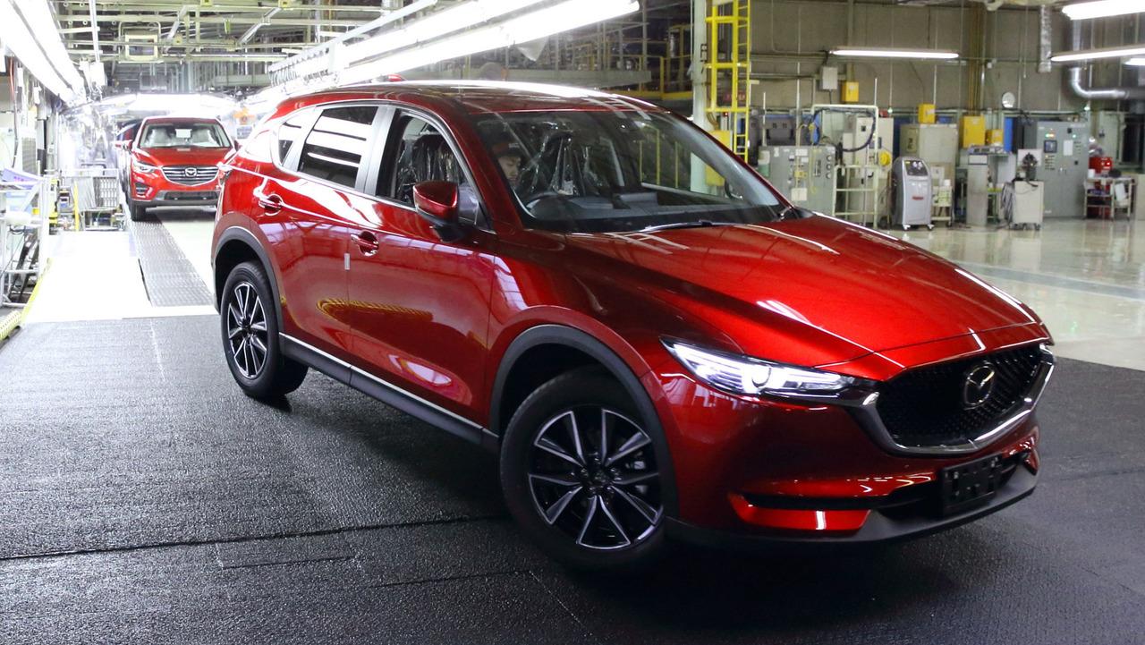 2017 Mazda CX-5 production