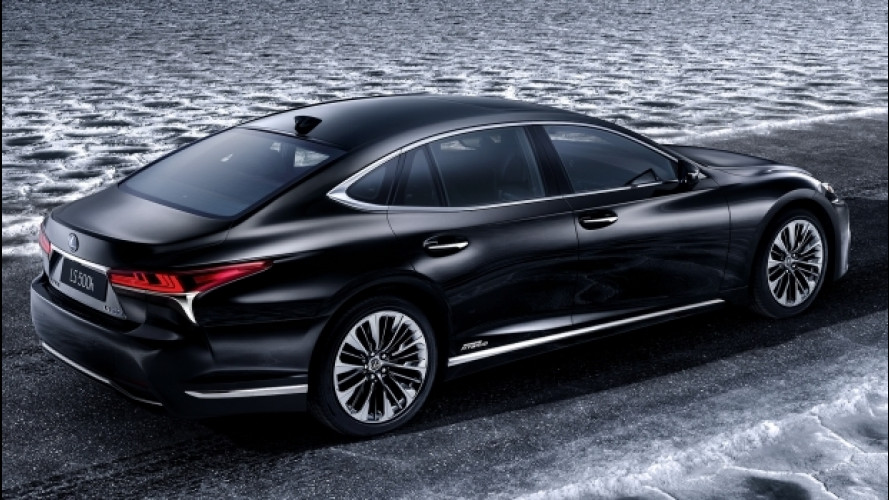 Lexus LS Hybrid,