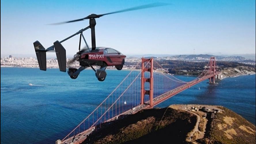 PAL-V Liberty, l'auto volante è in vendita a 499.000 euro