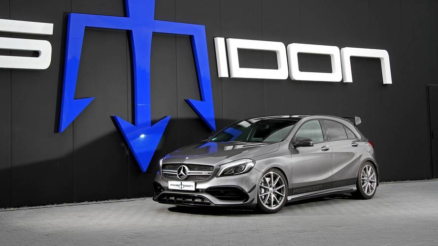 Mercedes-AMG A45 By Posaidon Packs An Absurd Amount Of Power
