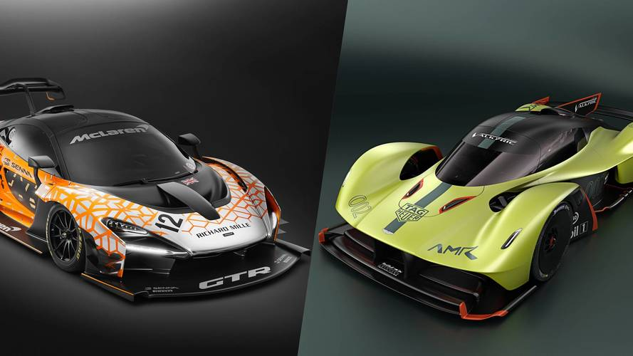 Aston Martin Valkyrie gets insane 1100-horsepower AMR Pro model