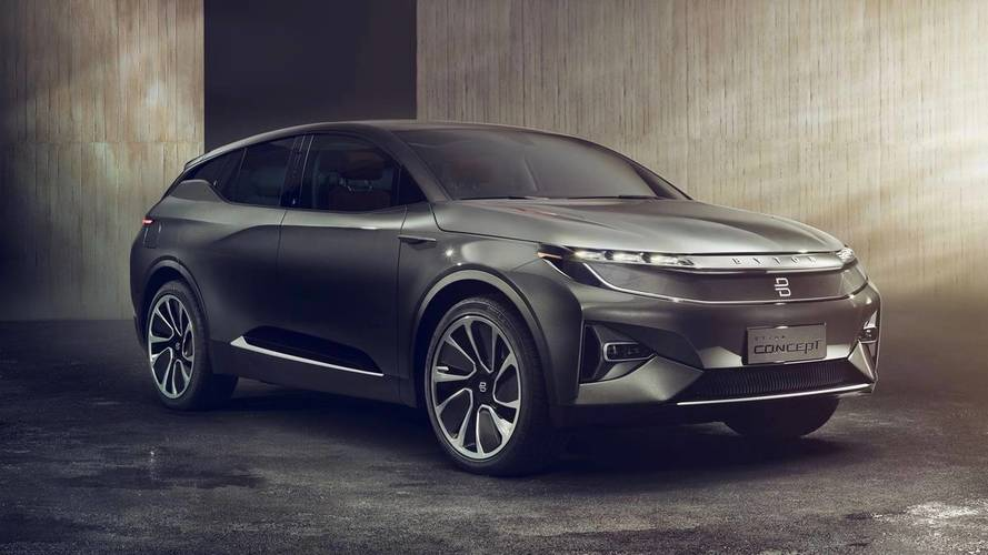 The Byton Concept Is The Latest Chinese EV Contender