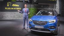 Opel Grandland X live at Frankfurt