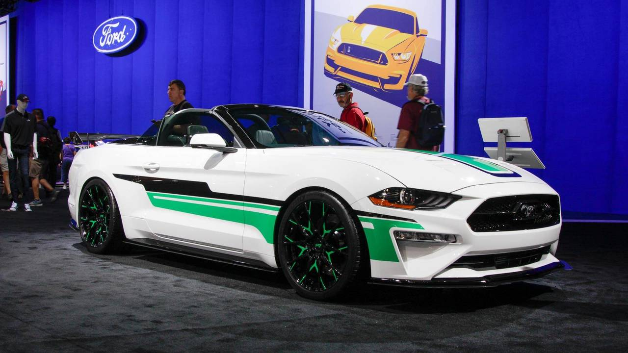 2018 Ford Mustang Convertible by MAD Industries