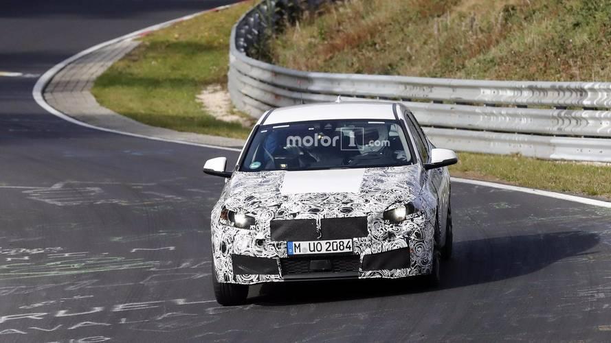 L'intérieur de la BMW Série 1 en photos espion