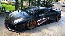 Half Camo Lamborghini Huracan