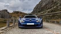 KVC - Porsche 911 GT1 dans les Alpes