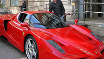 Chris Evans & his Ferrari Enzo