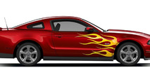 customised Ford Mustang
